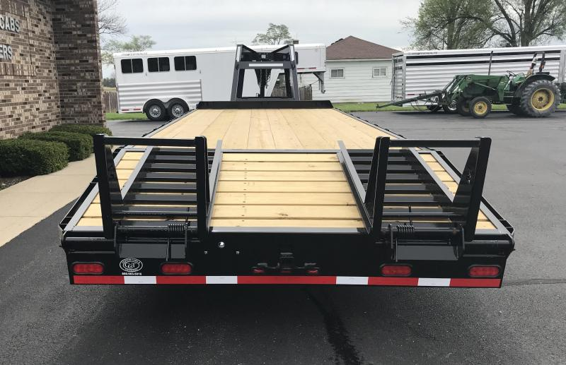 2019 Moritz International 20' + 5' 10K Flatbed Trailer