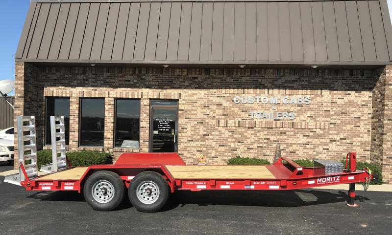 2019 Moritz International 18' UT 7K  AR Flatbed Trailer