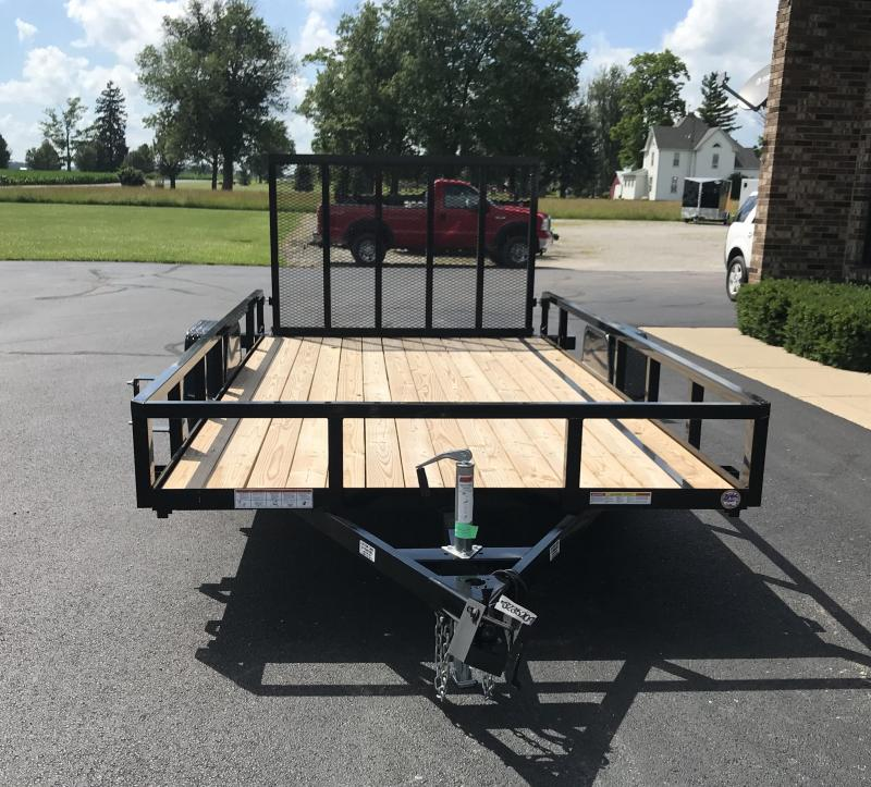 2019 Sure-Trac 7 X 14 Tube Top Flatbed  3K Idler