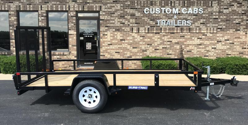 2018 Sure-Trac 6' X 12' Tube Top Flatbed 3K idler