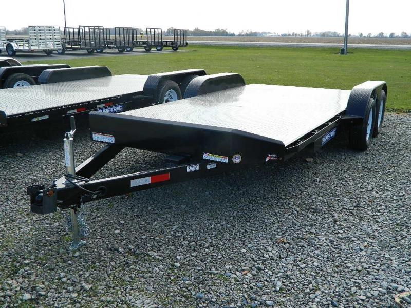 2019 Sure-Trac 7 x 20 10K Steel Deck Car Hauler