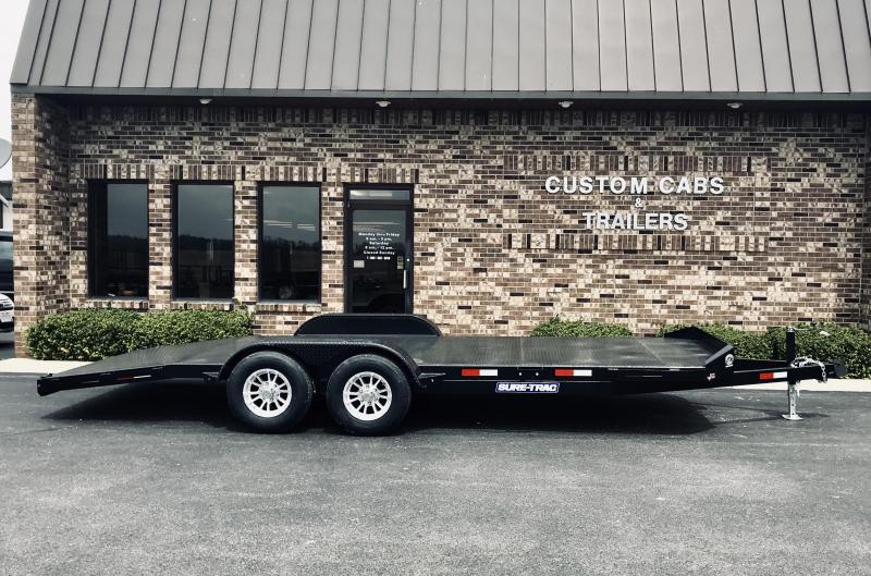 2019 Sure-Trac 7' x 20'  Steel Deck Car Hauler  10k