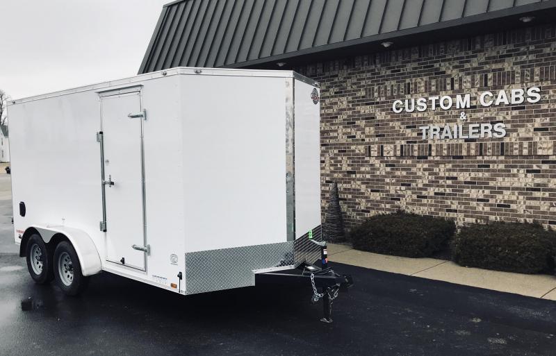 2019 Cargo Mate 7' x 14'  Enclosed Cargo Trailer