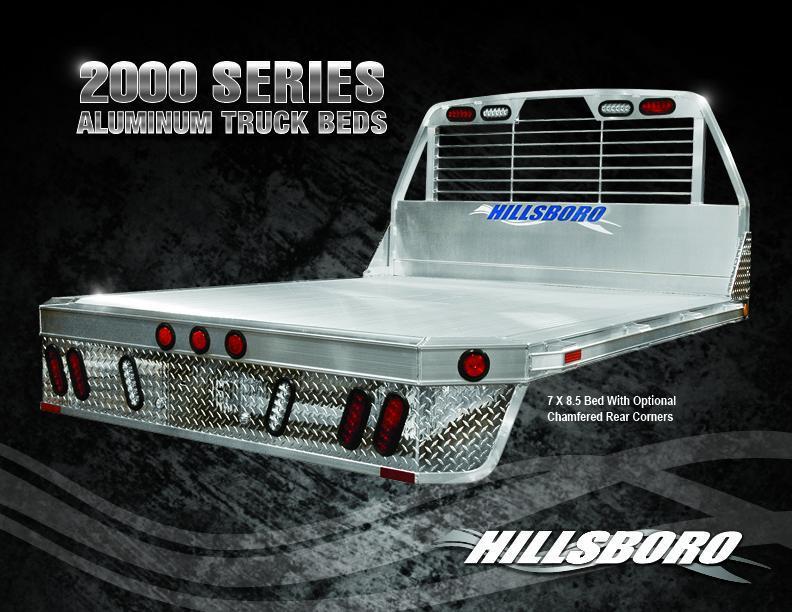 2019 Hillsboro 2000 Truck Bed