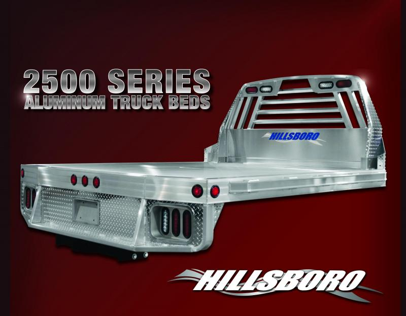 2019 Hillsboro 2500 Truck Bed