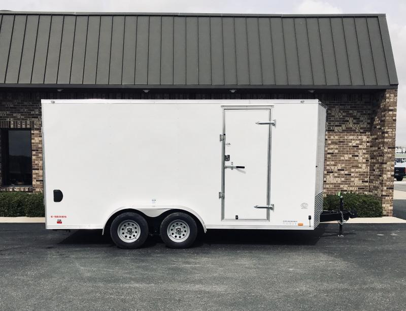 2020 Cargo Mate 7.5' x 16'  Enclosed Cargo Trailer