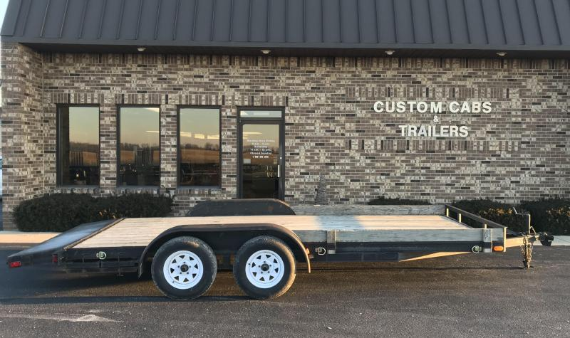 2010 Rettig Enterprises  18' Car Hauler Trailer