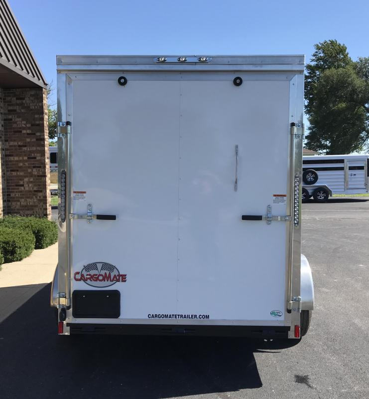 2019 Cargo Mate 6' X 10'  Enclosed Cargo Trailer