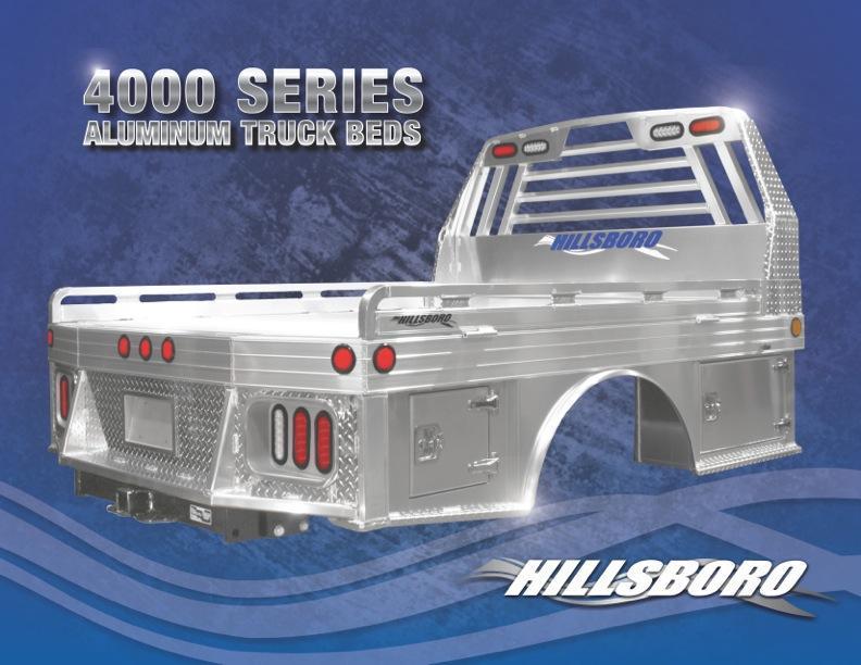 2018 Hillsboro 4000 Truck Bed