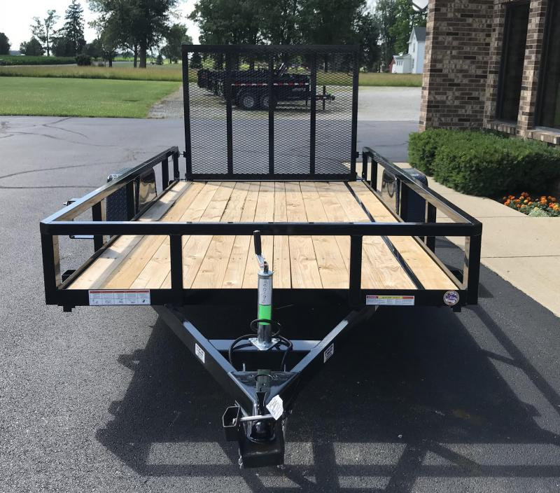 2018 Sure-Trac 6' X 12' Tube Top Flat Bed 3K idler