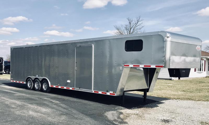 2020 Cargo Mate 8.6' x 38' Enclosed Car Trailer