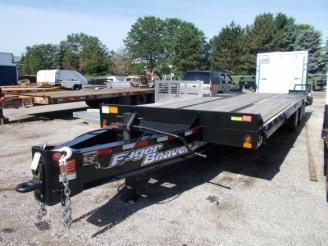 2019 Eager Beaver 8.5 x 21' Equipment Trailer w/ 6' Beavertail