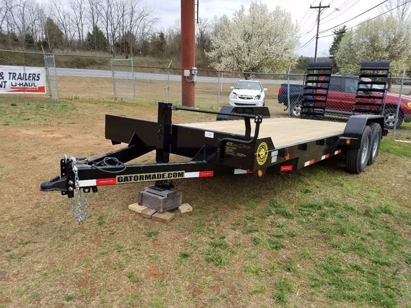 2018 gatormade trailers 14k equiment tractor north carolina2018 gatormade trailers 14k equiment tractor