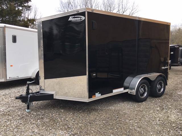 FORMULA 7'' X 12' ENCLOSED CARGO TRAILER