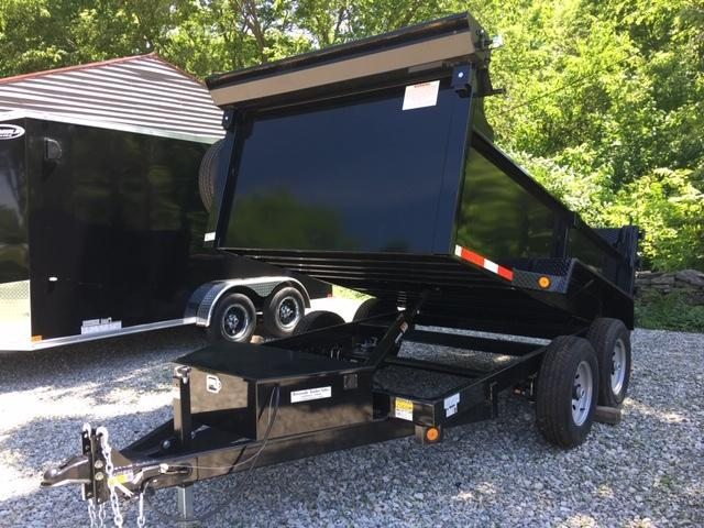 "2020 QUALITY STEEL PRODUCTS 72"" X 10' DUMP TRAILER -COMBO DOOR RAMPS in Ashburn, VA"