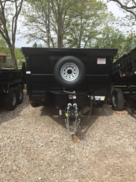 "QUALITY STEEL PRODUCTS 72"" X 10' DUMP TRAILER"