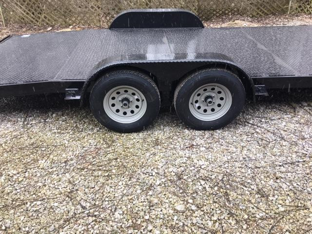 "82"" x 16' NATION TANK & TRAILER  CAR HAULER - ATV-  SIDE BY SIDE TRAILER"
