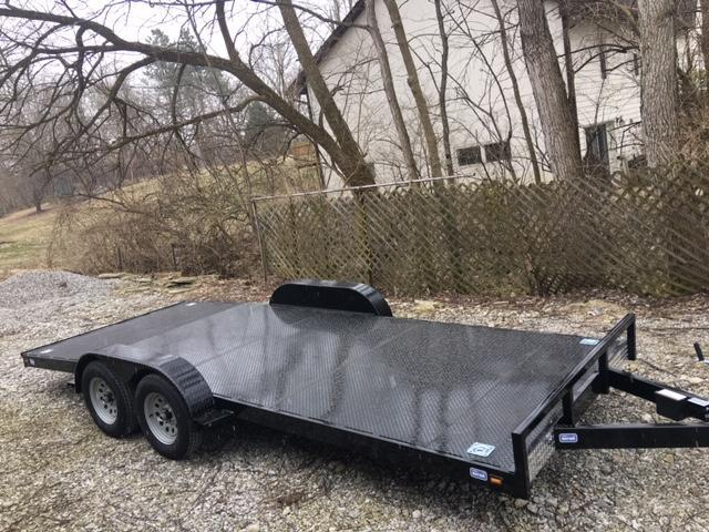 "82"" x 16' NATION TANK & TRAILER  CAR HAULER - ATV-  SIDE BY SIDE TRAILER"