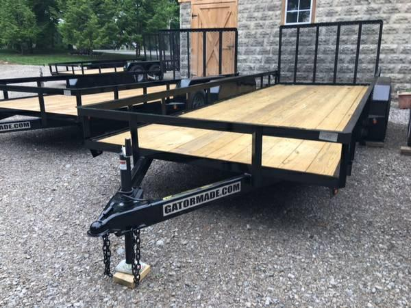 "2019 GATOR MADE 82"" X 20' UTILITY / LANDSCAPE / ATV TRAILER"