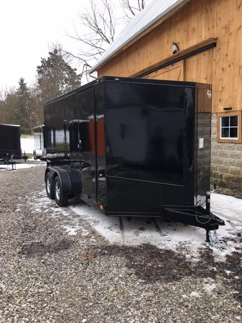 "2019 FORMULA SPECIAL ""BLACK-OUT"" 7' X 14' ENCLOSED CARGO TRAILER"