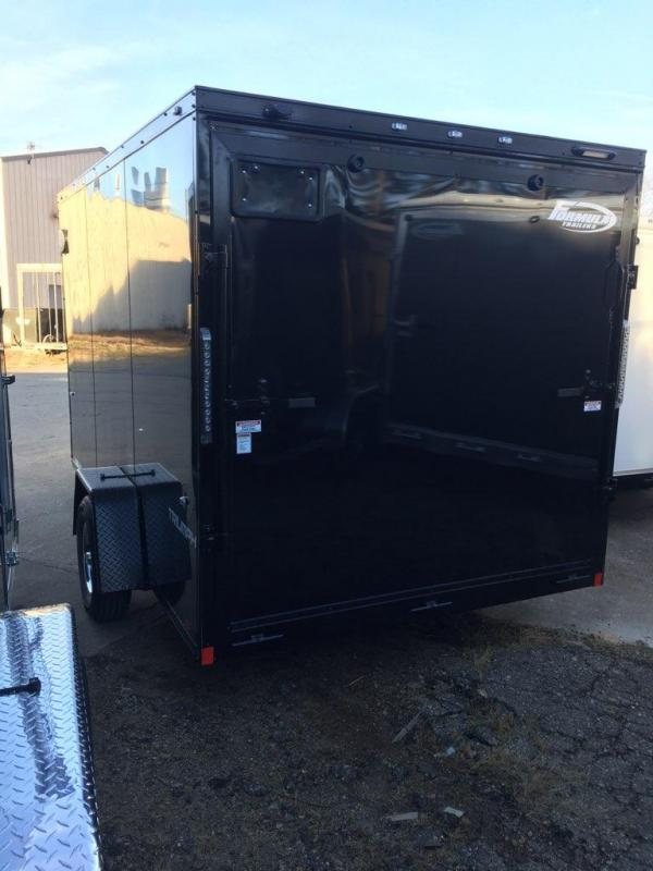 "2019 FORMULA  ""BLACK OUT"" 7' X 14' ENCLOSED CARGO TRAILER"