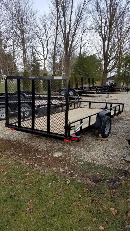"2019 76"" x 14' GATOR MADE UTILITY / LANDSCAPE / ATV TRAILER"
