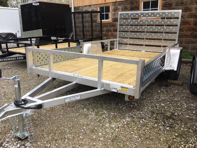 2019 Quality Steel and Aluminum QSA8012 Utility Trailer