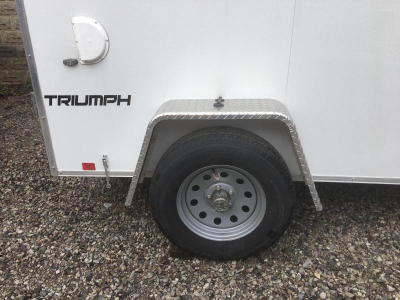 2019 FORMULA 5' X 8' ENCLOSED CARGO TRAILER