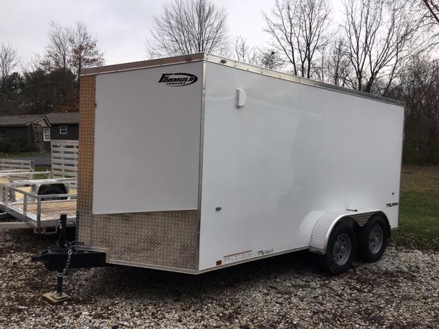 2019 FORMULA 7' x 14' ENCLOSED CARGO TRAILER