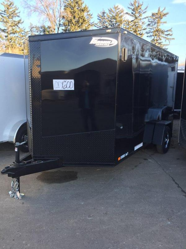 2019 FORMULA FACTORY SPECIAL BLACK-OUT 7' X 12' ENCLOSED CARGO TRAILER