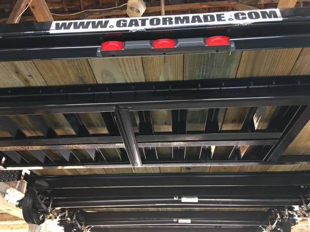 "2019 82"" x 18' GATOR MADE LOW BOY - ATV - CAR HAULER TRAILER"