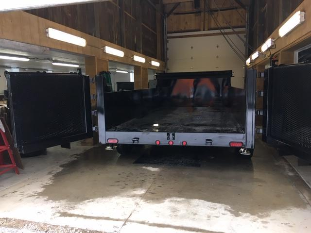 "83"" X 14' DUMP TRAILER / COMBO RAMP DOOR"