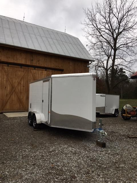 2019 NEO FACTORY SPECIAL 7' X 16' ENCLOSED CARGO TRAILER