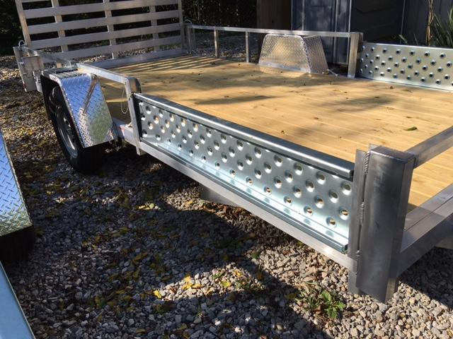 2020 Quality Steel and Aluminum 8012ATV ATV Trailer