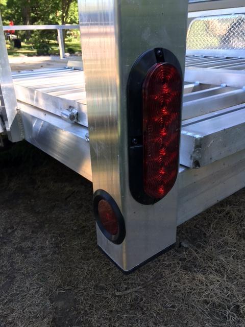 2020 Quality Steel and Aluminum 8012ATV ATV Trailer