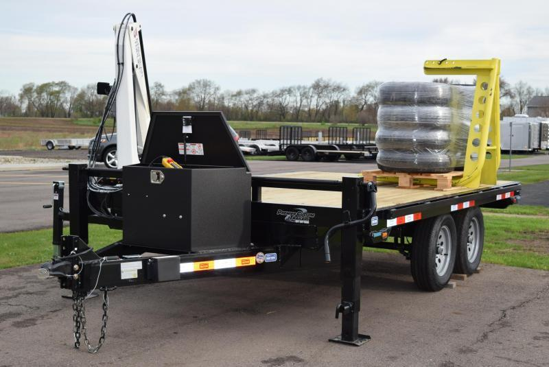 2019 Nation Tank and Trailer ATL100 Crane Trailer
