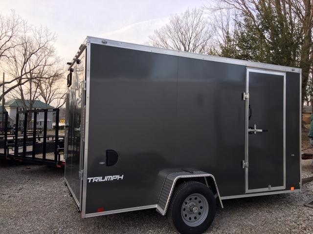 2019 FORMULA 6' X 12' *FACTORY SPECIAL* ENCLOSED CARGO TRAILER