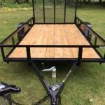 "2019 76"" x 12' GATOR MADE UTILITY / LANDSCAPE / ATV TRAILER"