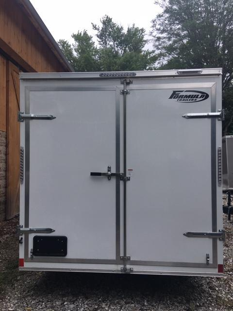 "2020 FORMULA  7' X 16' +6"" ENCLOSED CARGO TRAILER"
