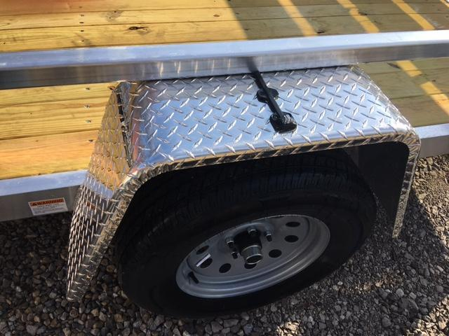 """2018 80"""" x 14' QUALITY STEEL PRODUCTS UTILITY / LANDSCAPE / ATV TRAILER"""