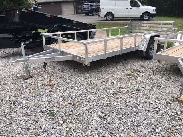 "2018 80"" x 14' QUALITY STEEL PRODUCTS UTILITY / LANDSCAPE / ATV TRAILER"