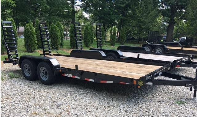 "2019 82"" x 16' GATOR MADE TRACTOR - TRENCHER - TRUCK - SKID STEER EQUIPMENT TRAILER"