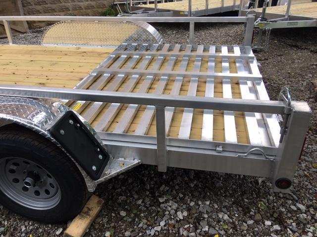 """80"""" x 16'  Aluminum Utility Trailer"""