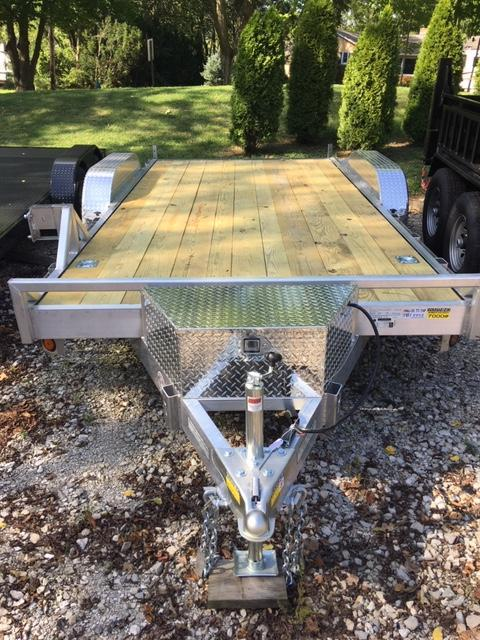 2020 Quality Steel and Aluminum 8316ALEH10K Car / Racing Trailer