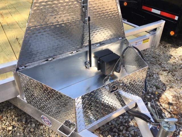 2020 Quality Steel and Aluminum 8316ALEH10K Car / Racing Trailer