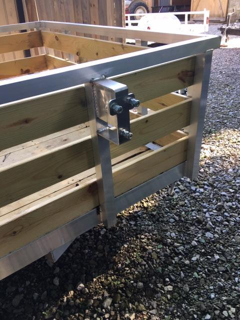 2020 Quality Steel and Aluminum 7412ALC Utility Trailer