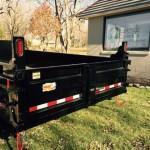 "2019 QUALITY STEEL PRODUCTS 83"" X 16' DUMP TRAILER"