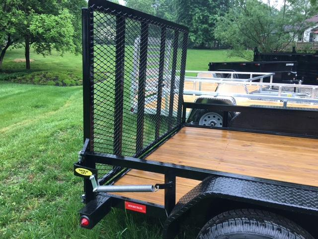 "2019 82"" x 16' GATOR MADE UTILITY / LANDSCAPE / ATV TRAILER"