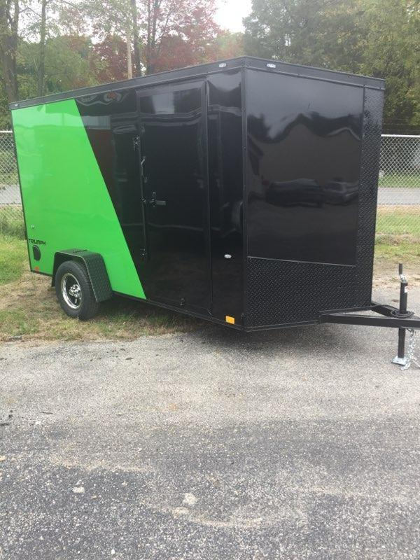 2019 6' X 12' ENCLOSED CARGO TRAILER