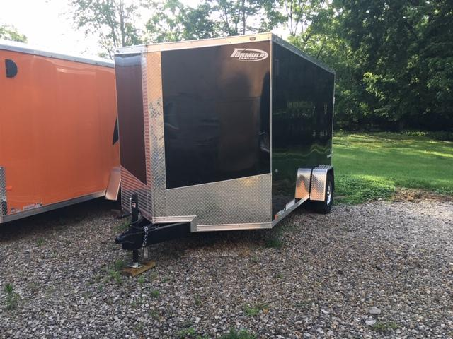 2020 FORMULA FACTORY SPECIAL 7' X 12' ENCLOSED CARGO TRAILER
